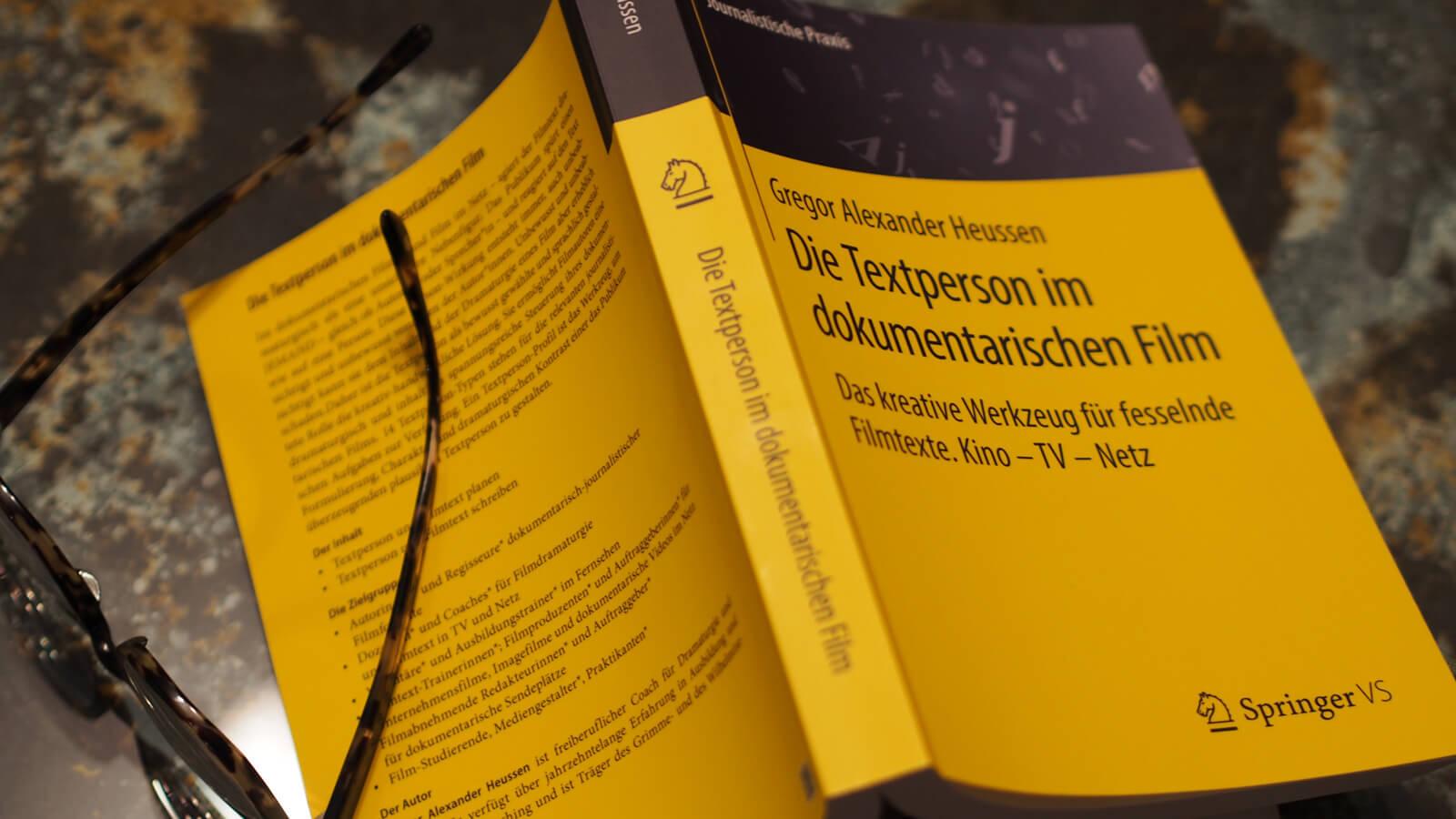 Gregor A. Heussen Buch »Die Textperson im dokumentarischen Film«
